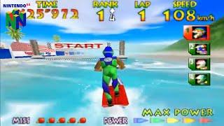 Wave Race 64 (Nintendo 64 Gameplay)