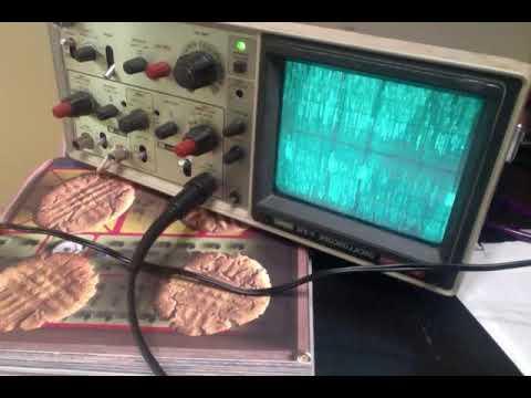 Oscilloscope Music- AN ANTI ART FILM BY BIRTHDAY GURL VIDEO ARTIST
