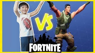 FUNNY FORTNITE KIDS DANCE CHALLENGE in REAL LIFE