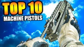 """Top 10 """"FASTEST KILLING MACHINE PISTOLS"""" in COD HISTORY (Call of Duty)   Chaos"""
