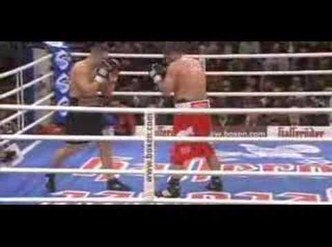 efsane Türk boksör Sinan Şamil Sam VS Denis Bakhtov