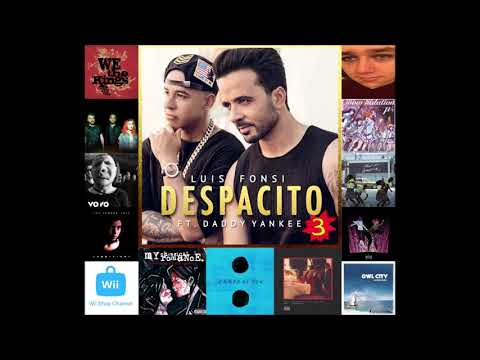 Despacito 3 (feat. Ed Sheeran, Nintendo, Migos, my drunk friend, and more) - 14 song mashup!