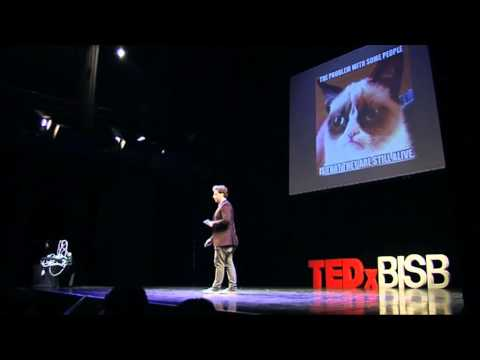 Hunt for creativity and education: Jakub Lebeda at TEDxBISB