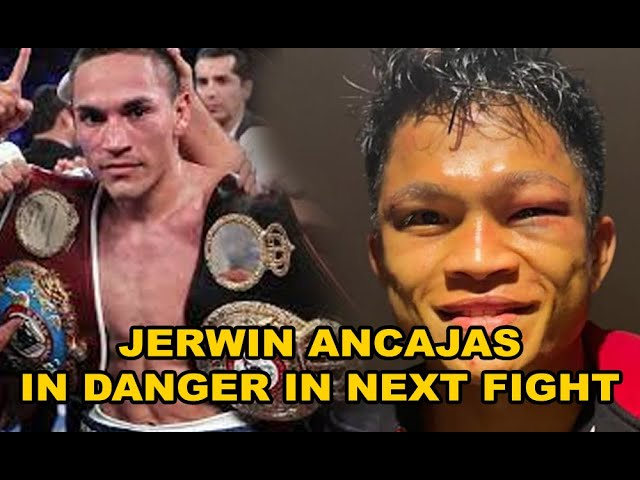JERWIN ANCAJAS IN TROUBLE WITH ROMAN GONZALES AND FRANCISCO ESTRADA