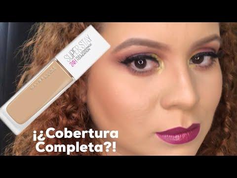 Base de Maybelline Superstay 24h, ¿Cobertura Completa?! / Zulmarie Rivera Makeup Artist