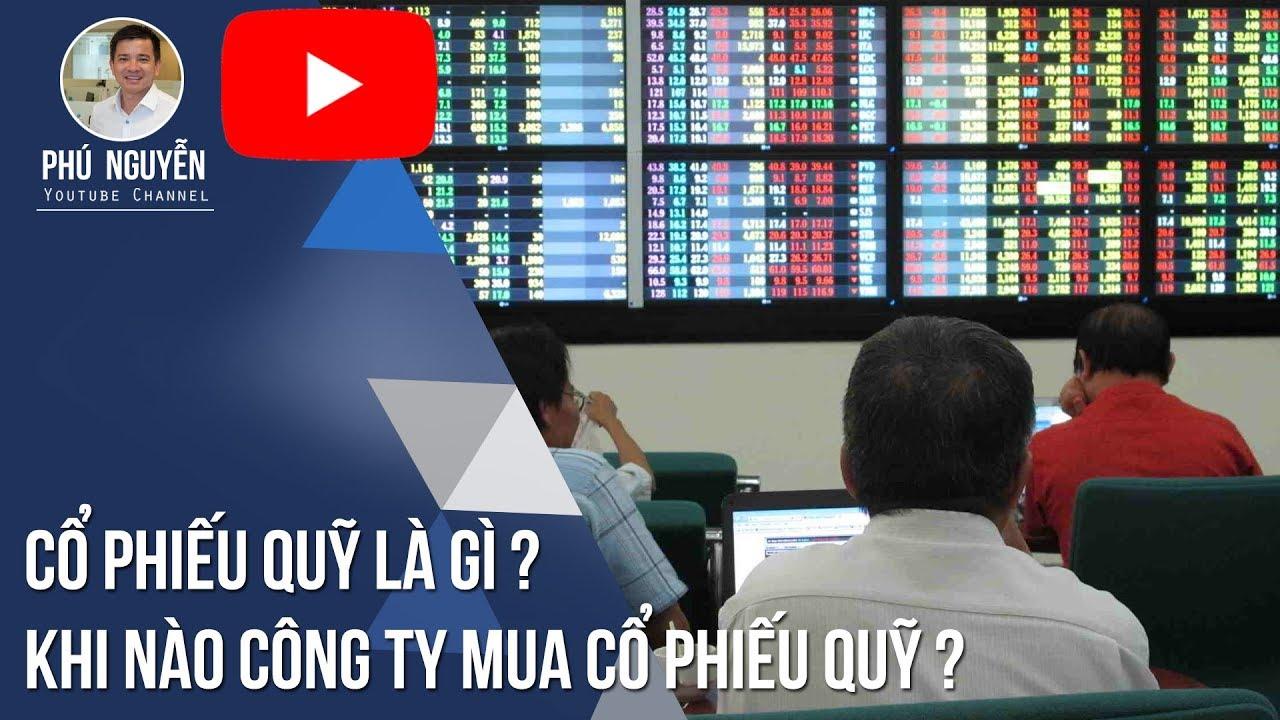 Cổ phiếu quỹ là gì ? Khi nào Công ty mua cổ phiếu quỹ ?
