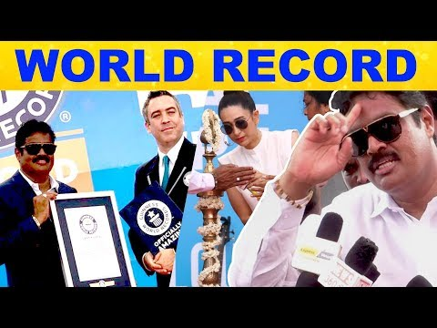 Guinness World Record of VIP Hair Color Shampoo with 1024 Participants   RKay   Karisma Kapoor   HD