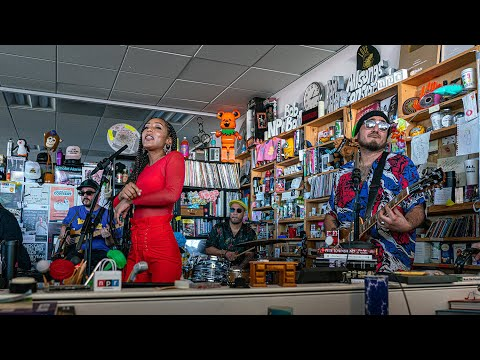 NPR Music Tiny Desk Concert (ft. Anderson .Paak, Chronixx & India Shawn)