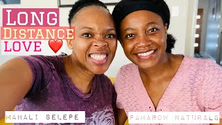 LONG DISTANCE DATING TO MARRIAGE!   feat @pamarownaturals aka Pililo   Real Talk   Mahali Selepe