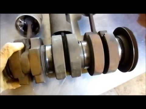 DKW 3=6 900cc crankshaft