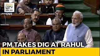 """How PM Modi Described Rahul Gandhi's """"Hug And Wink"""" In Parliament"""