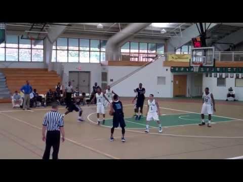 (3) Harford Community College vs Salem Community College Men's Basketball (11/2/13)