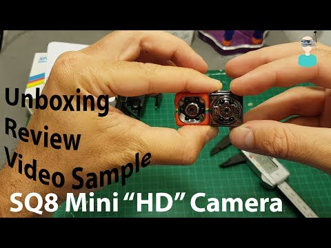 SQ11 Mini Camera - Unboxing, Review And SBS Comparison With SQ8