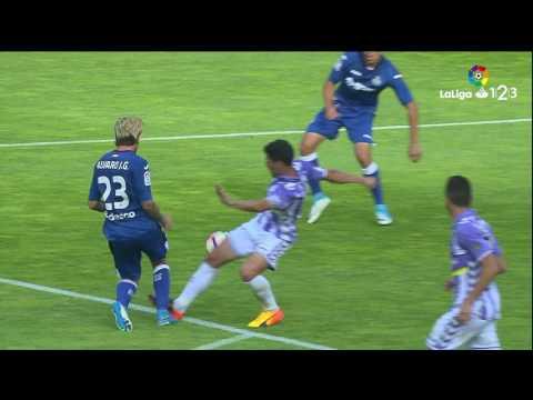 Resumen de Real Valladolid vs Getafe CF (1-0)