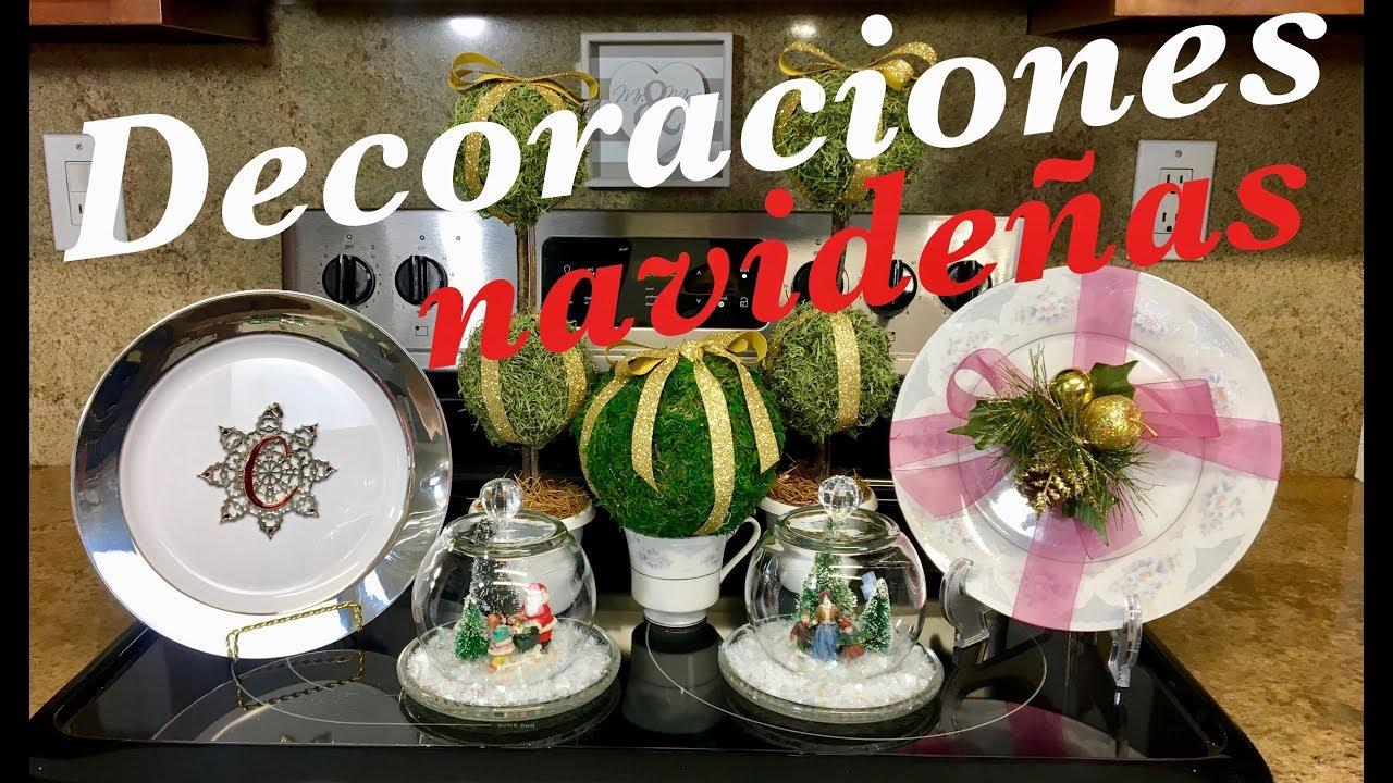 IDEAS PARA DECORAR TU COCINA EN NAVIDAD 🎄⛄ DIYs FACILES