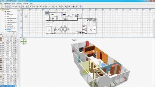 Sweet Home 3D - floor construction