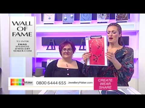 [How to use High End Gemstones] - JewelleryMaker LIVE 28/3/15