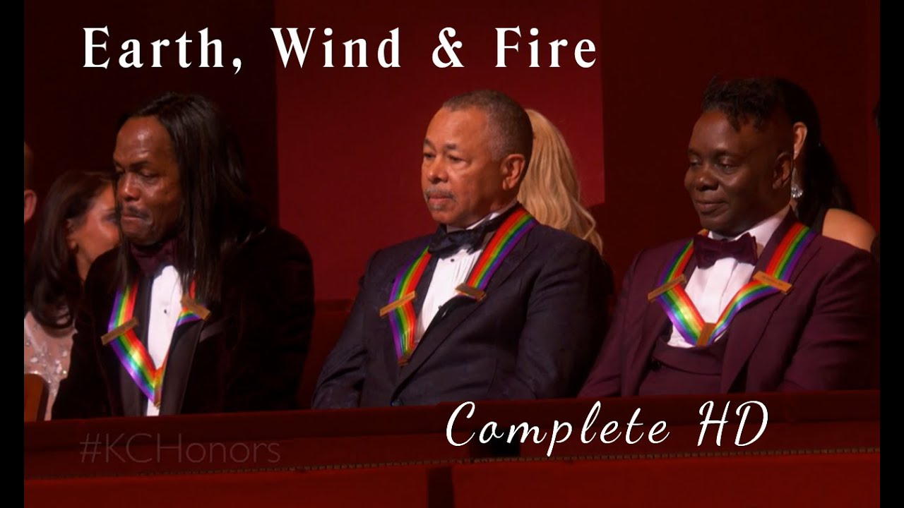 Earth Wind and Fire Kennedy Center Honors 2019