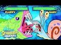 DoodleBob vs. the Alaskan Bull Worm Battle! 🥊 SpongeBob SquareOff