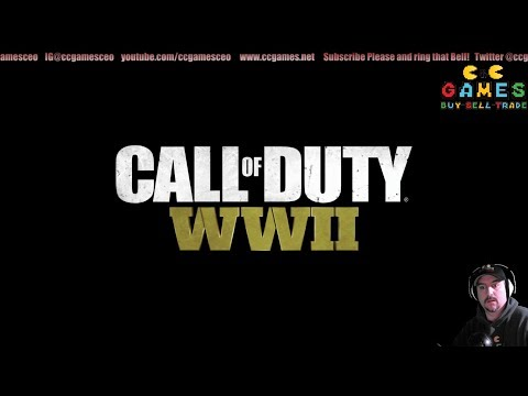 Call of Duty WWII noob Some action before work.