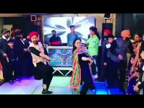 High Volt Bhangra Entry In Marriage #3 || Sukha & Jasmeet