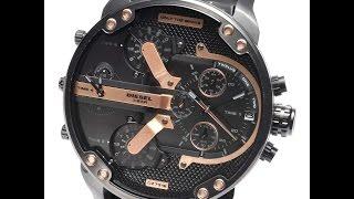 DIESEL DZ7312 WATCH MR.DADDY 2.0 CHRONOGRAPH BLACK REVIEW MENS DZ7312 ディーゼル ブラック レザー レビュー メンズ 腕時計