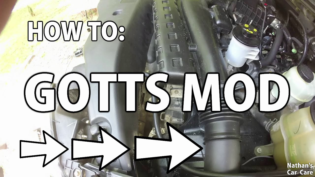 Gotts Mod Ford F150 Cheap Air Intake Youtube 03 F250 V10 Fuel Filter