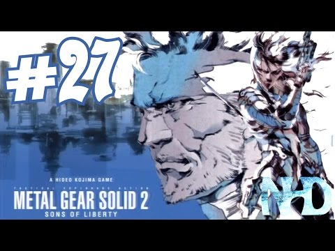 Let's Play Metal Gear Solid 2 Substance (pt27) Navigating with Emma
