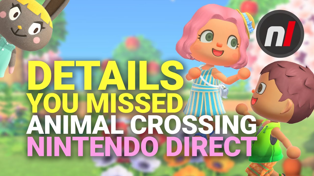 20 Details You May Have Missed in the Animal Crossing New Horizons Direct thumbnail