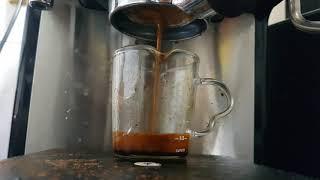 더러운 커피 추출