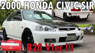 2000 HONDA CIVIC SiR B20 Vtec // FULL CAR REVIEW // PHILIPPINES