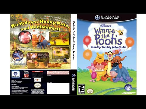 [NGC]Disney's Winnie the Pooh's Rumbly Tumbly Adventure Opening  