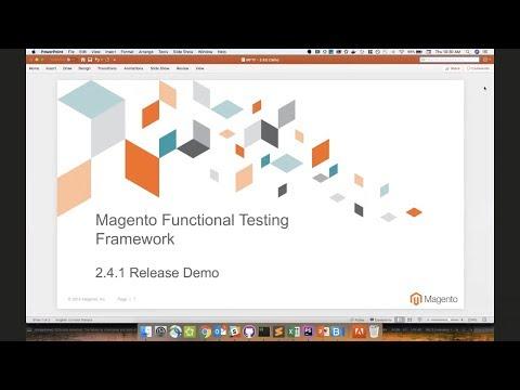 Magento Functional Testing Framework v2.4.1 Demo