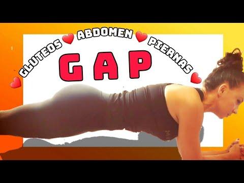 0194★HiiT GAP 04: gluteo, abdominal y pierna