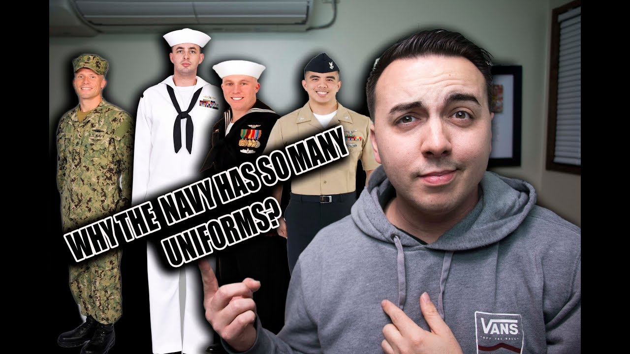 DOES THE U S  NAVY HAVE TOO MANY UNIFORMS?!