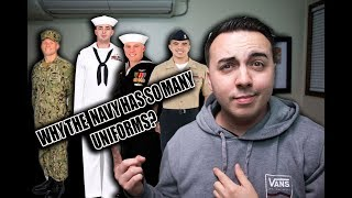 DOES THE U.S. NAVY HAVE TOO MANY UNIFORMS?!