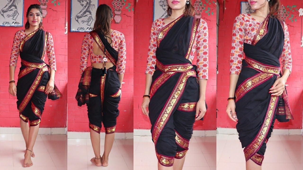 How to Wear Bollywood Style Koli Saree