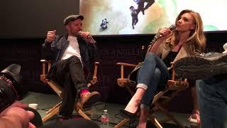 黑暗瀰漫 In Darkness Q&A with 導演 Director Anthony Byrne and 女主角 娜塔莉·多默爾 Natalie Dormer on 5/24/2018.