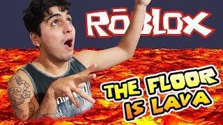 EL SUELO ES LAVA - (THE FLOOR IS LAVA) - ROBLOX A LO CASIMOCHO