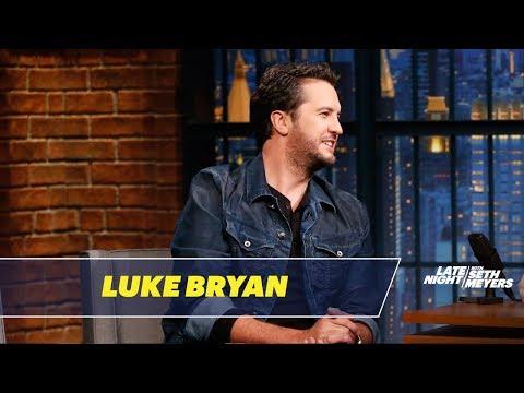 Luke Bryan Trash-Talks Blake Shelton