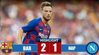 Barcelona vs Napoli 2-1 Highlights & Goals | Resumen y Goles (07/08/2019)