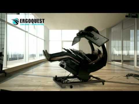 ErgoQuest Ultimate Zero Gravity Workstation