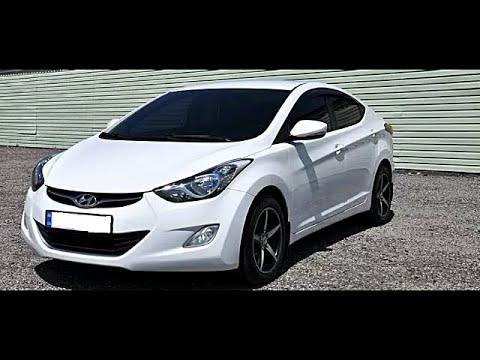 Замена антифриза Hyundai Elantra MD (2011-2016)