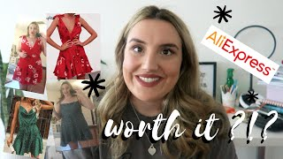 ALIEXPRESS CLOTHING HAUL 2019! TRY ON SUMMER HAUL!! / kimberley wilcox