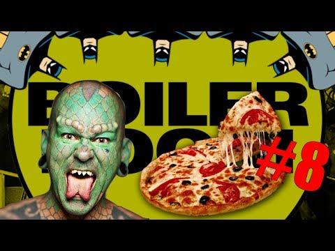 PEOPLE OF BOILER ROOM #8 - LIZARD MAN, PIZZA & BATMAN