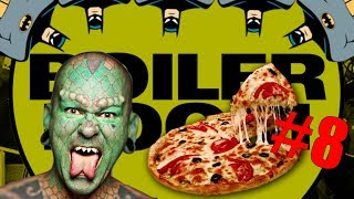 PEOPLE OF BOILER ROOM #8 - LIZARD MAN, PIZZA & BATMAN