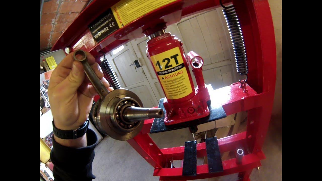 Presse Hydraulique 12 T De Chez Amazon Montage Et Test 518 Et Les Chats Essi Materiel