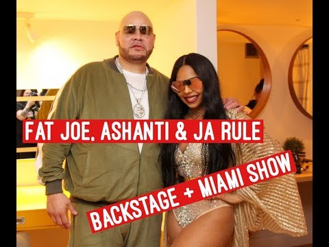 Fat Joe, Ashanti and Ja Rule perform in Miami  All Access