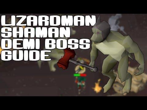 OSRS Lizardman Shaman Guide - Oldschool Runescape