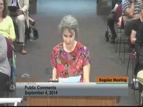 9/4/14 Request to Remove Hydrofluorosilicic Acid / Fluoride from OC Water